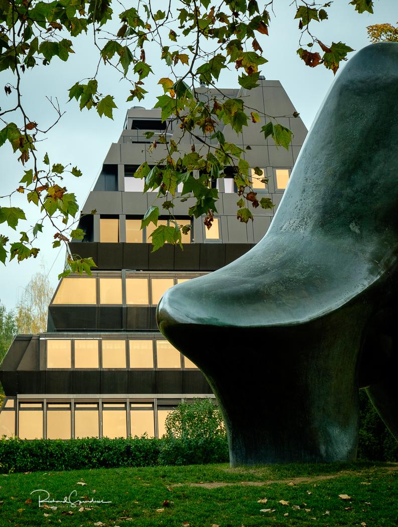 Zurich building and art