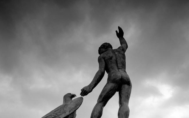 Zurich ganymed sculpture