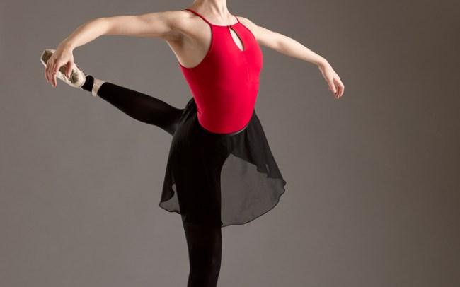 dance pose by dancer erica mulkern