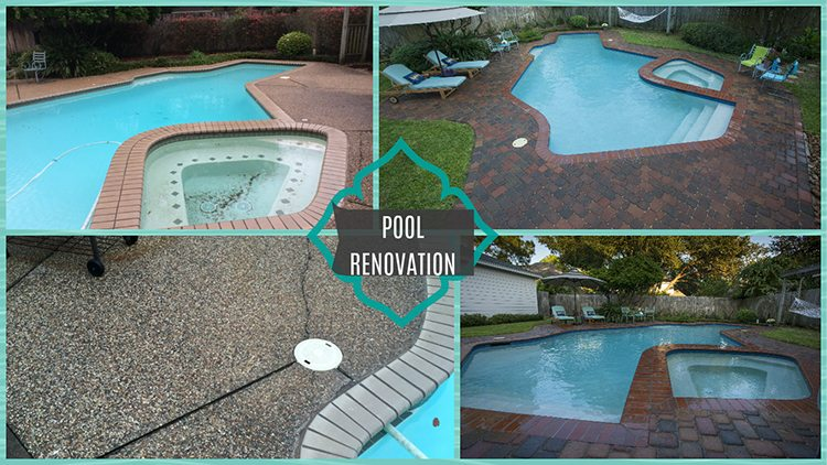pool remodeling renovations home