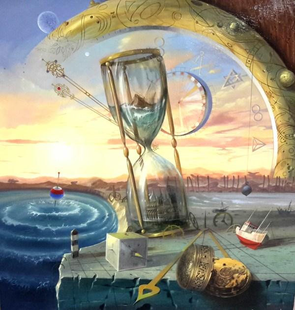 By Paintings Micha Surreal Arkhipoff