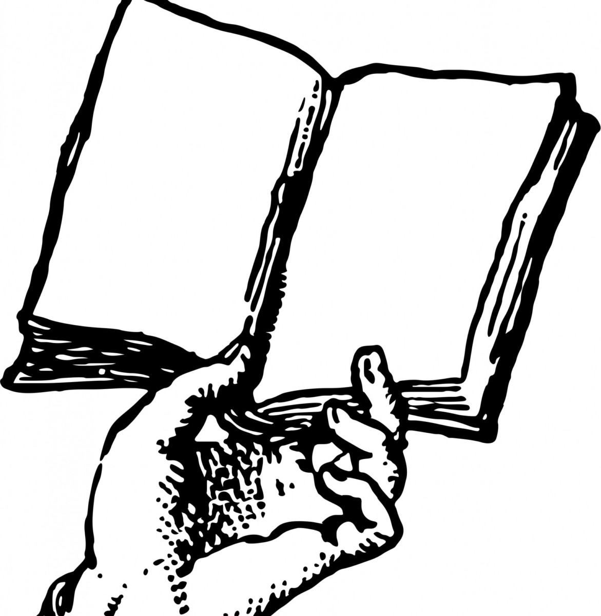 Read a poem public domain hand-holding-book cropped