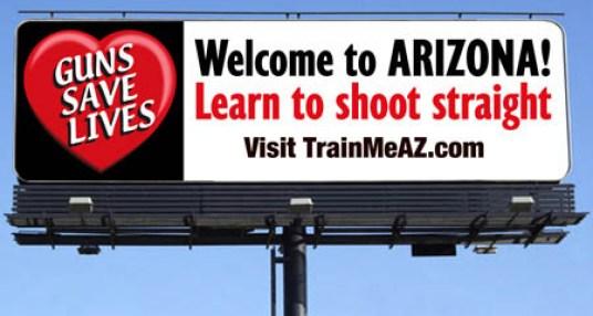 Guns Save Lives Billboard