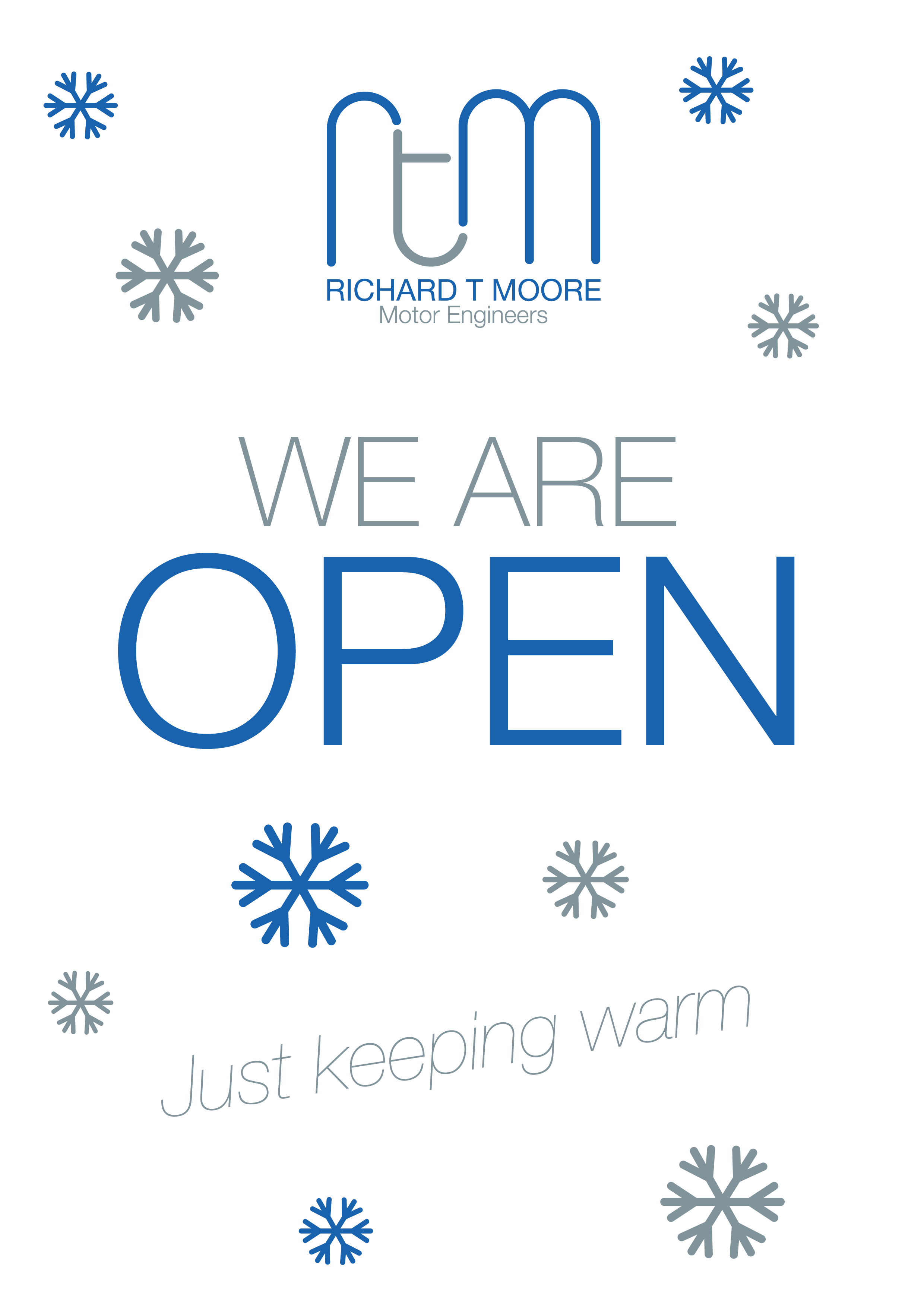 Back Open As Normal From Monday 5th Jan Give Us A Call To