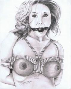 BDSM art - Tight Bindings
