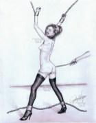 Femme Bull Whipping