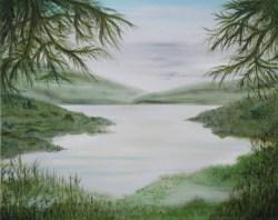 Summer Pond Overlook