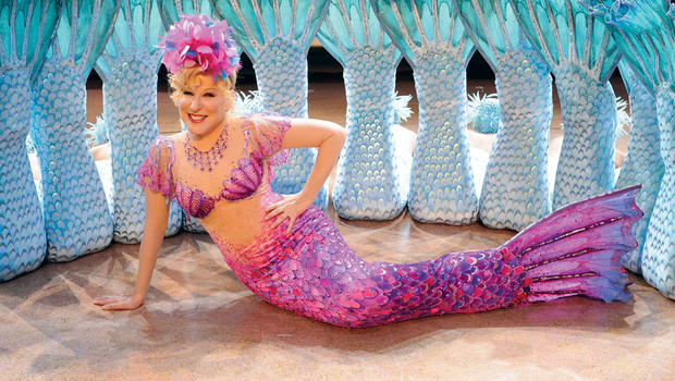 Bette Midler mermaid pink purple