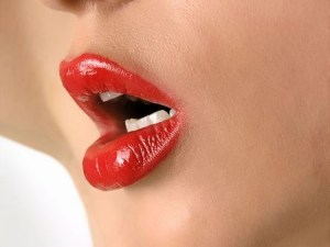 Beautiful Full Lips, hot with arousal