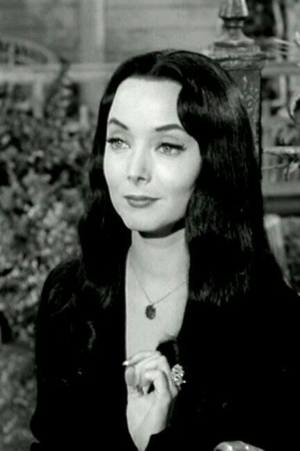 Morticia Addams, my very first love