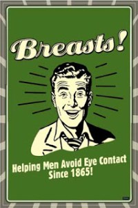 Helping avoid eye contact