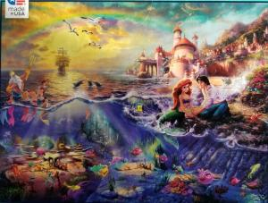 Jigsaw Puzzle Portfolio Disney's Little Mermaid Puzzle