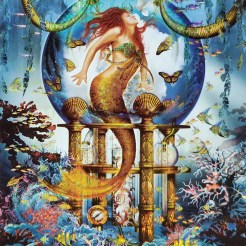 Blue Mermaid jigsaw puzzles