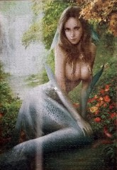 Mermaid Under Tree jigsaw puzzles