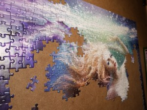 Jigsaw Puzzle Portfolio Onde work in process
