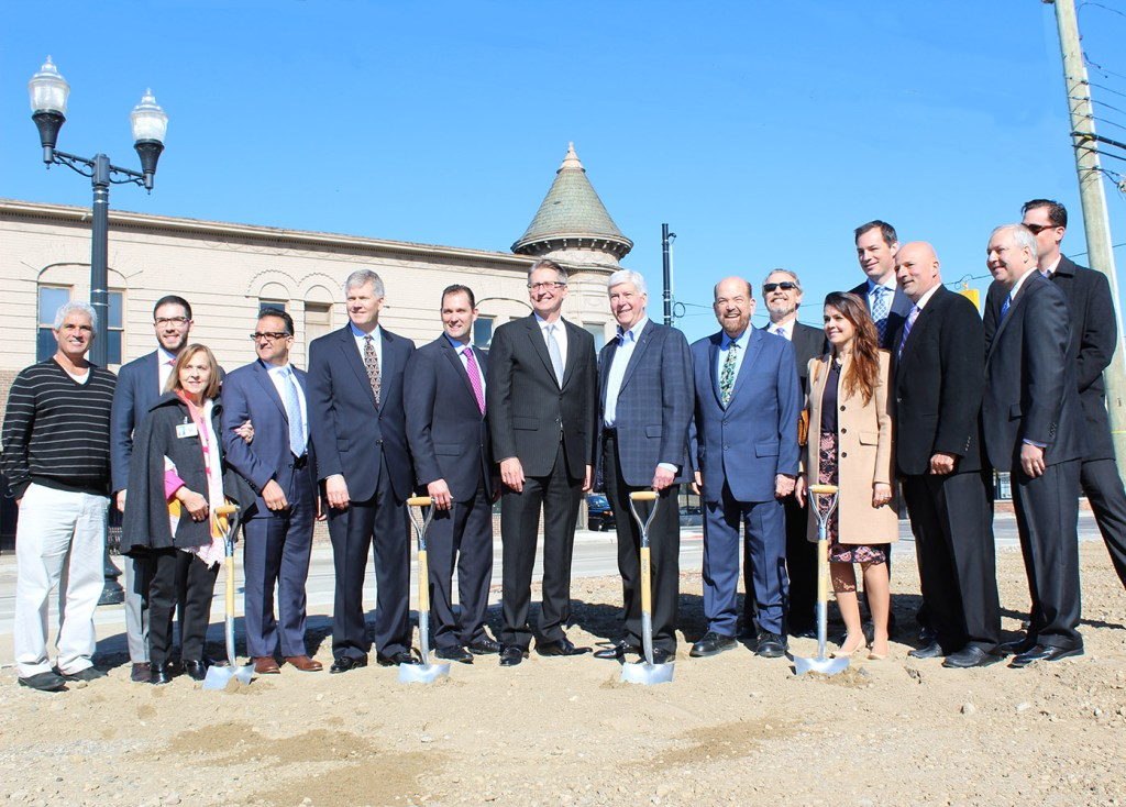 Wagner Place Ground Breaking Rick Snyder