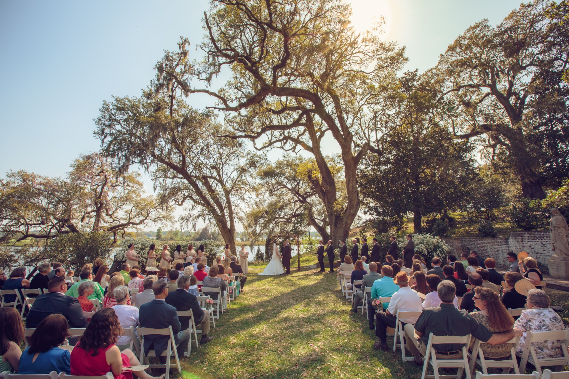 Rich Bell Photography  Kendra and Matts Mepkin Abbey Wedding