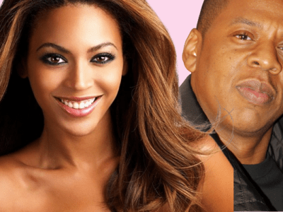 beyonce and jay z with pink money