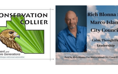 Rich Blonna Supports Conservation Collier