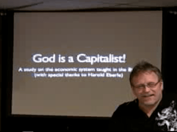 God is a Capitalist Video