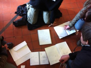 Comparing our sketch maps - all a bit different, some similarities