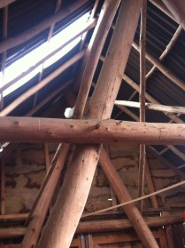 and the roundwood structure