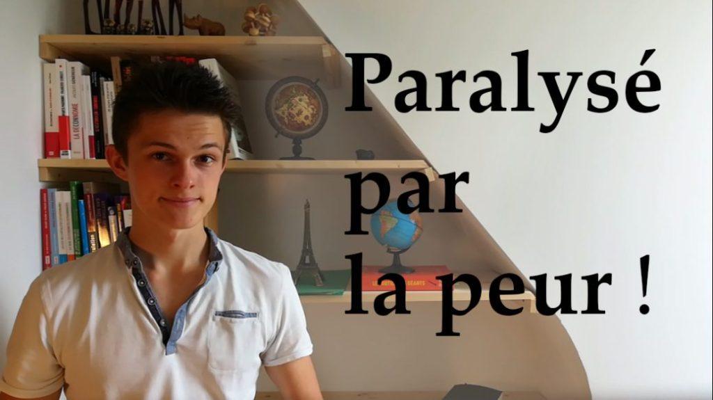 paralysé par la peur