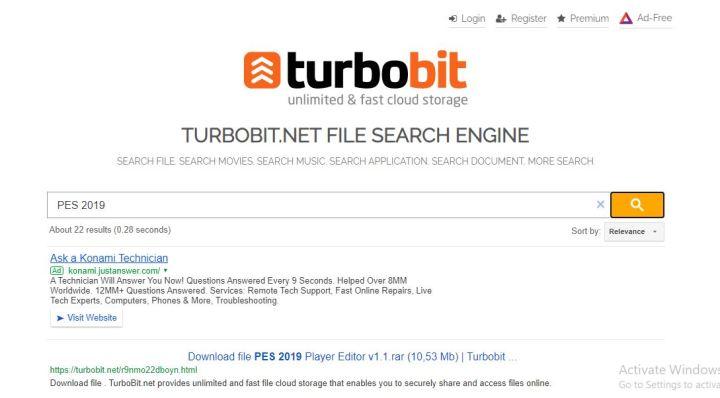 Turbobit premium link generator