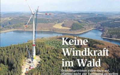 Keine Windkraft im Wald