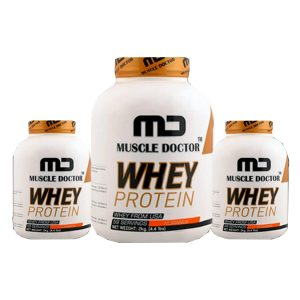 Muscle Doctor Whey Protein Whey from USA Cookies  Cream  2kg  Muscle Doctor Whey Protein Whey from USA Cream Cookies