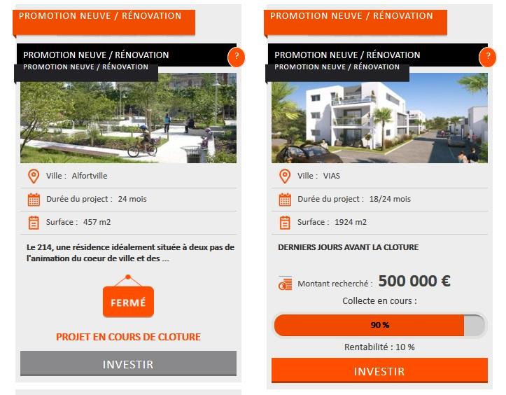 crowdimo test et avis sur l investissement immobilier richesse et. Black Bedroom Furniture Sets. Home Design Ideas