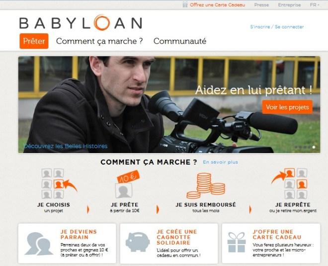 menú babyloan
