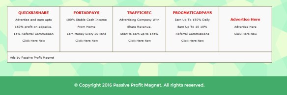 passive profit scam 00 magnet