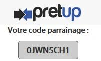 pretup-bonus-parrainage-code-promo
