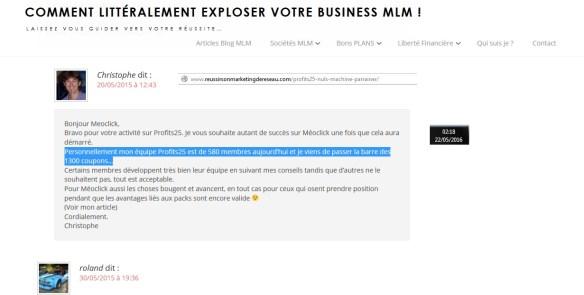 03 scam escroquerie arnaqueur ponzi escrocs 05 reussirsonmarketingdereseau Christophe GARNIER profit 25