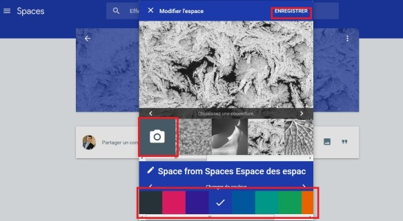 Google spaces spaces mode enploi 5