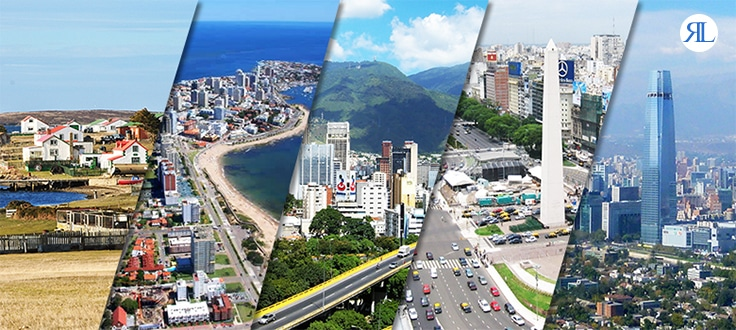 Richest Countries In South America - Rich countries and poor countries