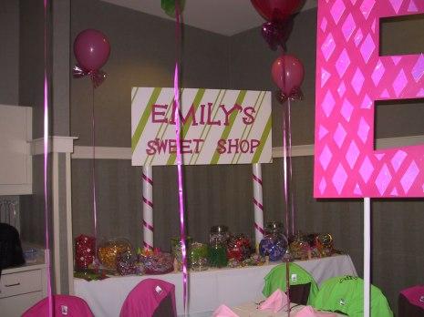 Bat Emily sign