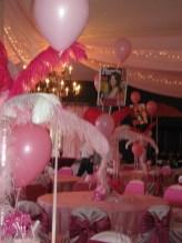 Bat Johnson balloons