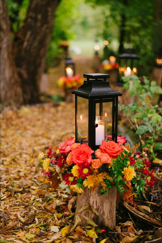 Lantern centerpiece