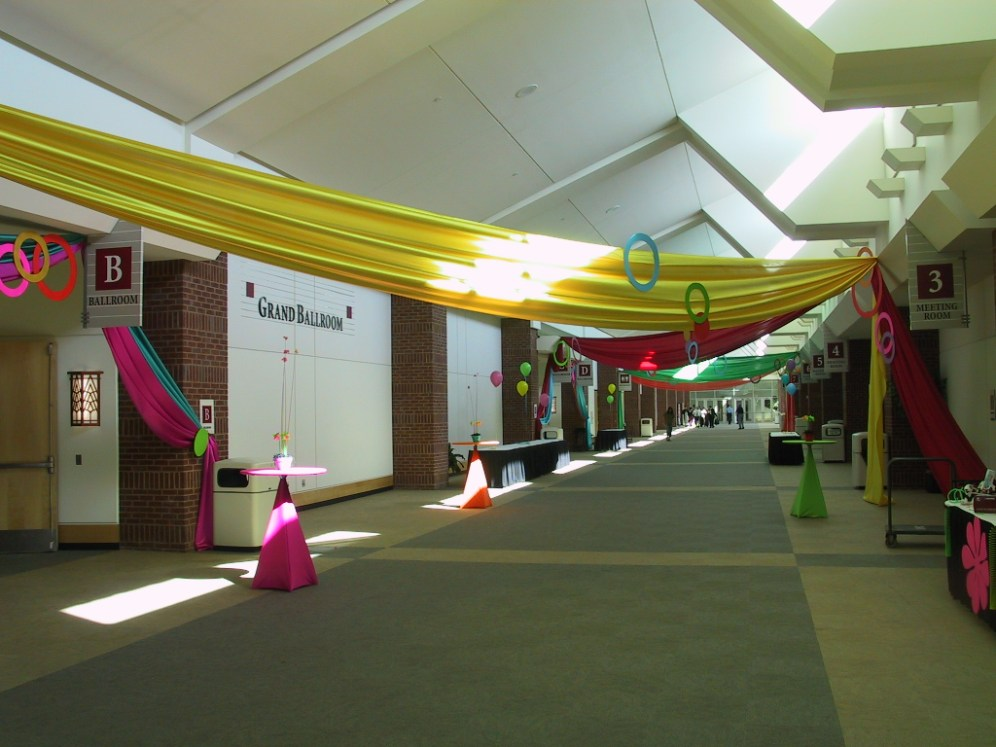 river center hallway