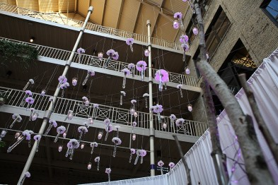 hanging carnation decor