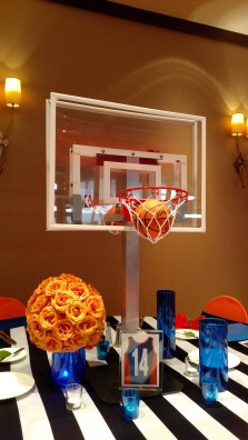 basketball themed bar mitzvah