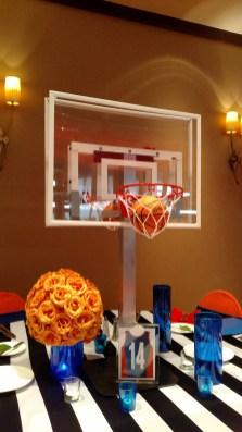 basketball themed bar mitzvah