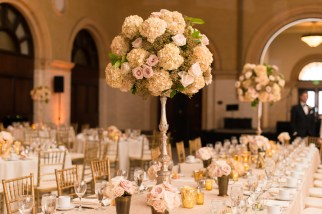 tall wedding centerpiece