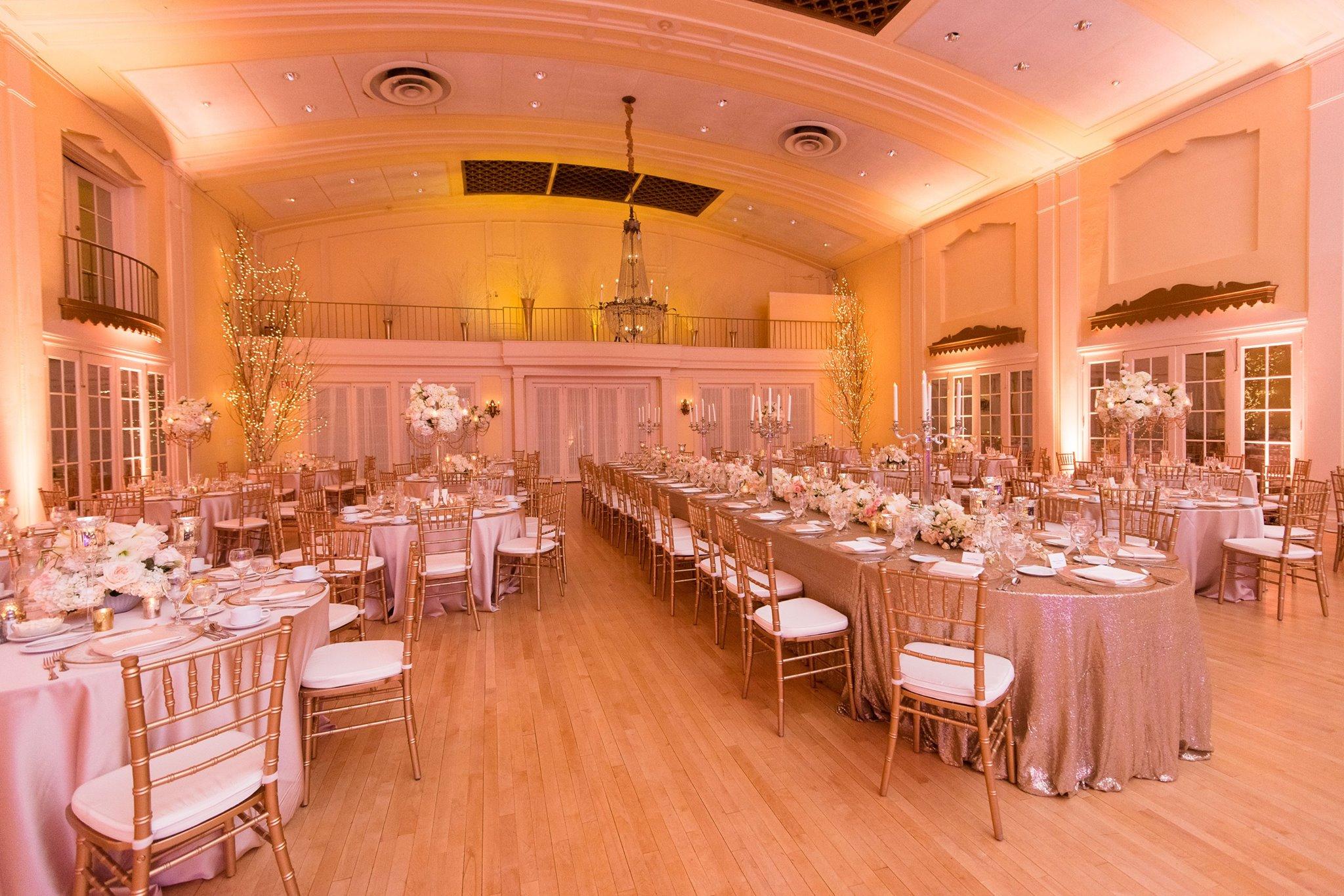 wedding reception Lafayette Club