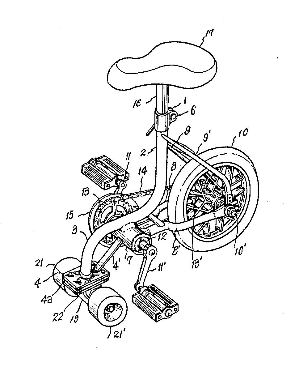 Minson Skate Bike Patent