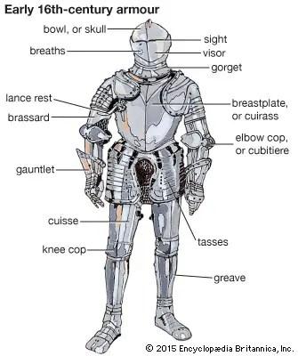 fantasy medieval armor