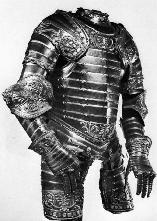 coat of plated armour