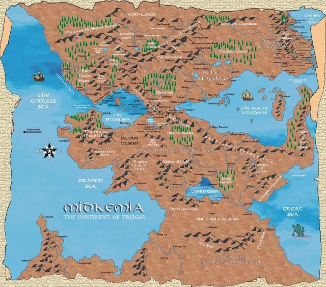 how to make a fantasy map
